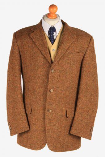 Harris Tweed Blazer Jacket Herringbone L