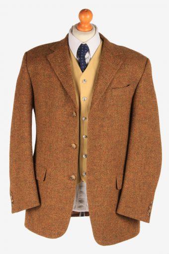 Harris Tweed Mens Blazer Jacket Herringbone Country Size L Multi -HT2918-165434