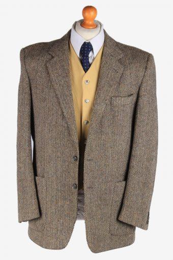 Harris Tweed Mens Blazer Jacket Herringbone Country Size XL Multi -HT2939-165560