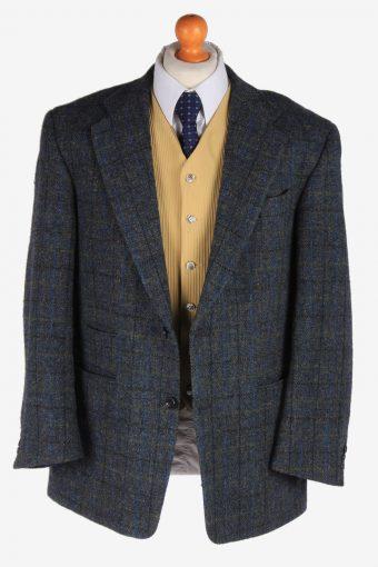 Harris Tweed Mens Blazer Jacket Windowpane Country Size XL Multi -HT2969-165741