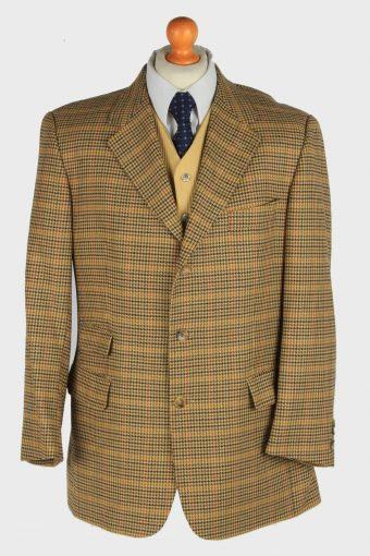 Mens Burberry Blazer Jacket Wool XL
