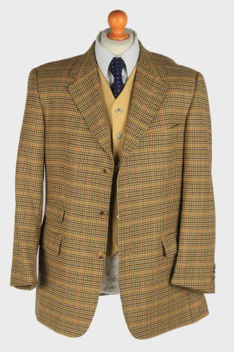 Mens Burberry Blazer Jacket Wool Country Size XL Multi -HT3019-166042