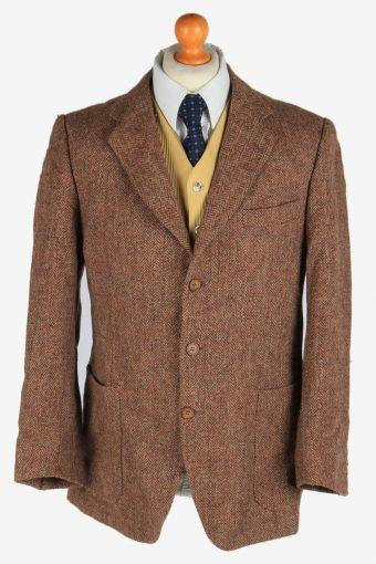 Harris Tweed Blazer Jacket Herringbone M