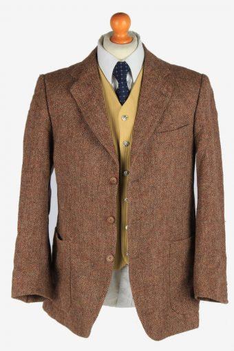 Harris Tweed Mens Blazer Jacket Herringbone Country Size M Multi -HT3038-166218