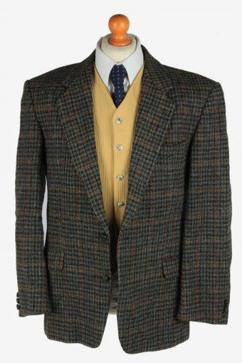 Harris Tweed Mens Blazer Jacket Windowpane Country Size XL Multi -HT3059-166340