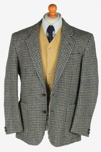 Harris Tweed Mens Blazer Jacket Windowpane Country Size XL Multi -HT3077-166456
