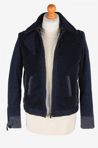 Women's Lacoste Jacket Outdoor Luxury Vintage Size S Navy C3062-163512