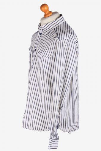 Levi's Flannel Shirt Thick Cotton Button Up Vintage Size XL White SH4114-164739