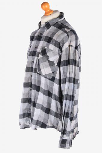 Levis Flannel Shirt Long Sleeves Button Up Vintage Size L Multi SH4120-164780