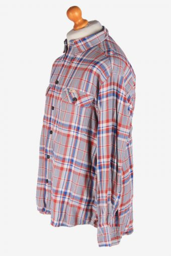 Lee Flannel Shirt Long Sleeves Button Up Vintage Size L Multi SH4128-164812