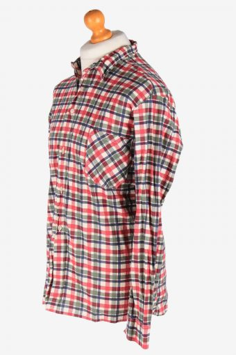 Flannel Shirt Casual Men's Long Sleeves Button Up Vintage Size XL Multi SH4142-164864