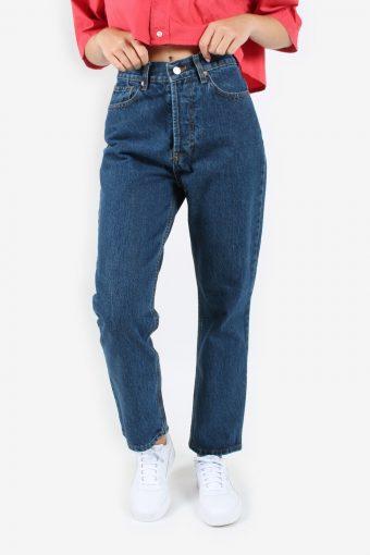 Levis 501 Womens Jeans High Waisted Mom Denim Vintage