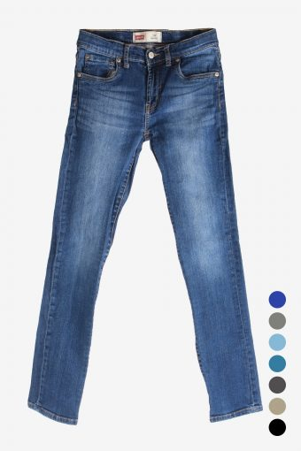 Levi Levis 510 Jeans Women Slim Fit Stretch Grade A