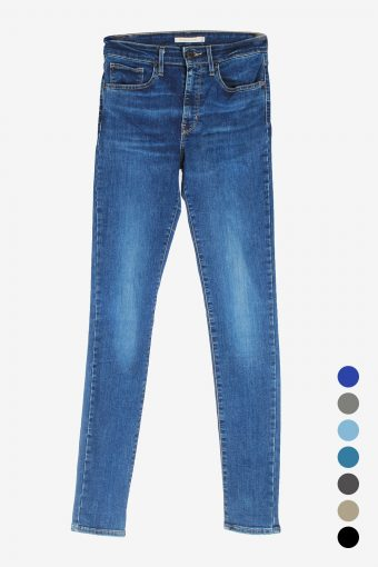 Levis Womens Jeans Slim Fit High Waisted Skinny Leg