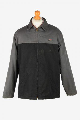 Dickies Mens Jacket Workwear Outdoor Vintage Size XL Grey C2807