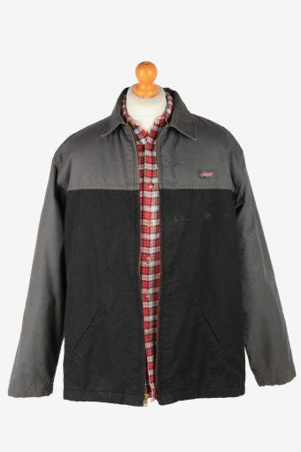 Dickies Mens Jacket Workwear Outdoor Vintage Size XL Grey C2807-160149