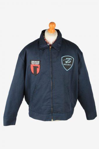 Dickies Mens Jacket Eisenhower Workwear Vintage Size XL Navy C2809
