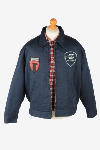 Dickies Mens Jacket Eisenhower Workwear Vintage Size XL Navy C2809-160161