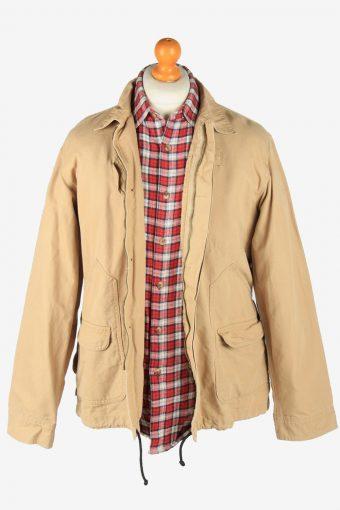 Levis Strauss Mens Shirt Jacket Vintage Size M Coffee C2811-160173