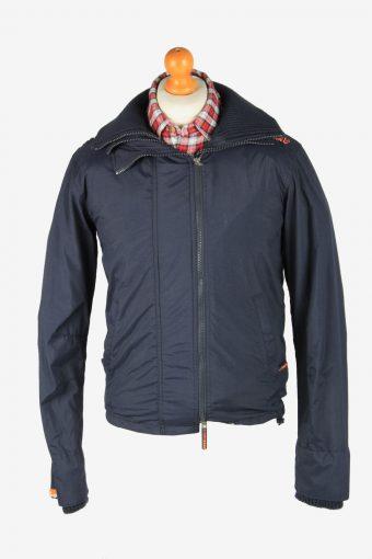 Super Dry Mens Jacket Japan Outdoor Vintage Size S Black C2839