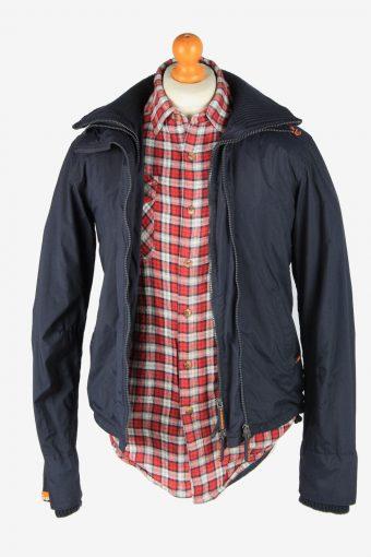 Super Dry Mens Jacket Japan Outdoor Vintage Size S Black C2839-160341