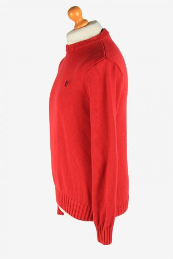 Chaps Crew Neck Jumper Pullover Vintage Size XL Red -IL2479-161328