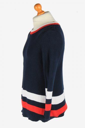 Tommy Hilfiger Crew Neck Jumper Pullover Vintage Size XL Navy -IL2546-162307