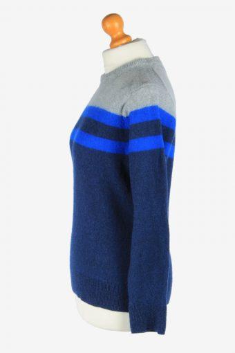 Tommy Hilfiger Crew Neck Jumper Pullover Vintage Size M Multi -IL2555-161675
