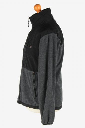 Champion Fleece Jacket Vintage Size S Dark Grey -IL2563-162375