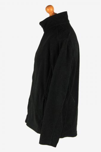 Champion Fleece Jacket Vintage Size L Black -IL2566-162387