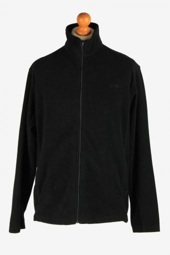 Champion Fleece Jacket 90s Black L