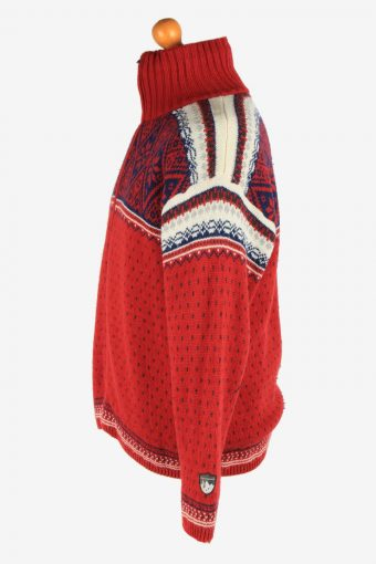 Campagnolo Zip Up Cardigan Icelanding Jumper Vintage Size XL Multi -IL2568-162395