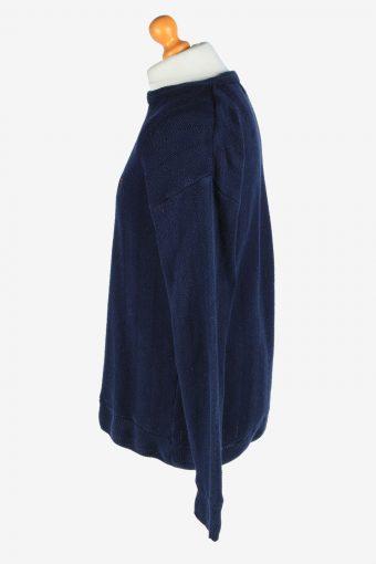 Chaps Crew Neck Jumper Pullover Vintage Size XL Navy -IL2426-161114