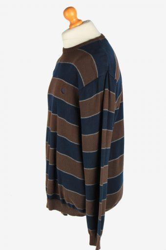 Chaps Crew Neck Jumper Pullover Vintage Size L Multi -IL2440-161170