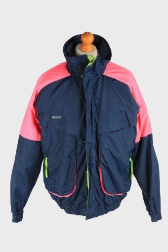 Columbia Men's Waterproof Jacket Outdoor Vintage Size L Multi C2845