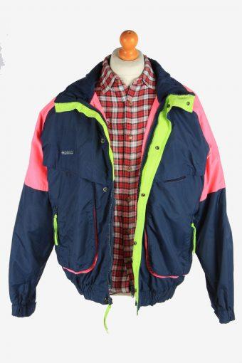 Columbia Men's Waterproof Jacket Outdoor Vintage Size L Multi C2845-160378
