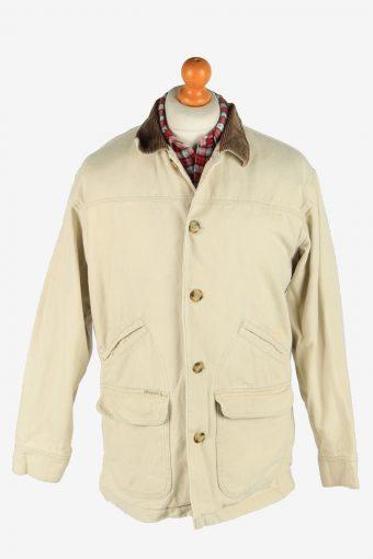 Columbia Unisex Jacket Ourdoor Road Vintage Size S Beige C2850