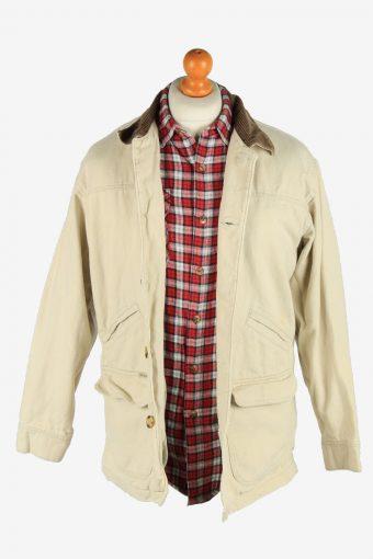 Columbia Unisex Jacket Ourdoor Road Vintage Size S Beige C2850-160408