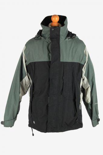 Columbia Men's Jacket Outdoor Hooded Vintage Size M Multi C2853