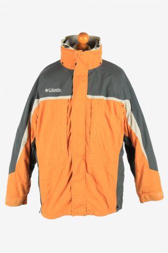 Columbia Men's Waterproof Jacket Polar Lined Vintage Size L Multi C2854