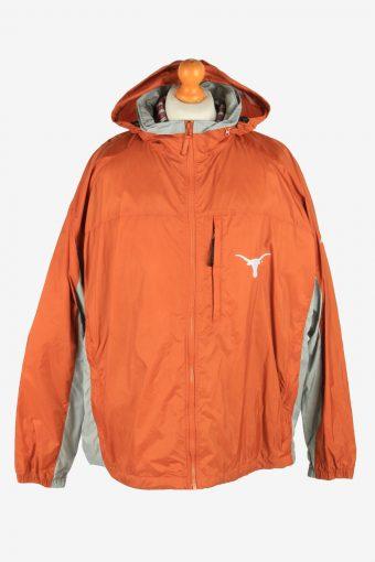 Columbia Men's Waterproof Raincoat Outdoor Vintage Size XXL Orange C2856