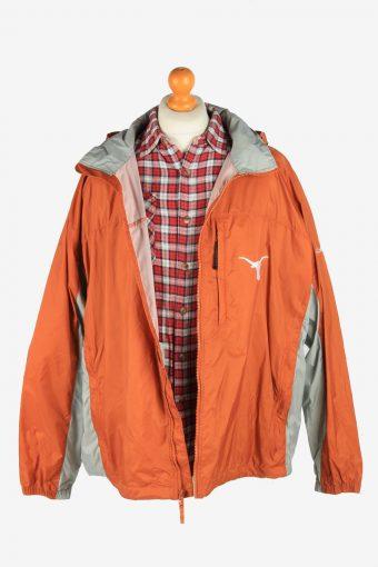 Columbia Men's Waterproof Raincoat Outdoor Vintage Size XXL Orange C2856-160444