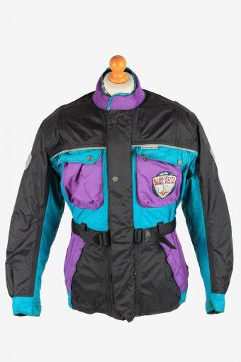 Blue Delta Men's Motorcycle Jacket Thermal Ice Shield Vintage Size L Multi C2867