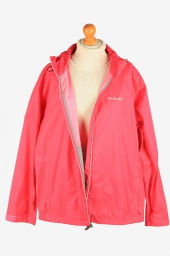 Columbia Women's Raincoat Waterproof Vintage Size XL Pink C2869-160522