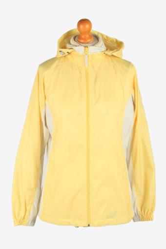 Columbia Women's Raincoat Waterproof Vintage Size S Yellow C2870