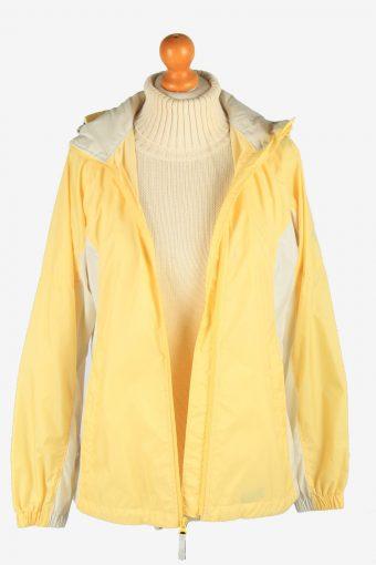 Columbia Women's Raincoat Waterproof Vintage Size S Yellow C2870-160528