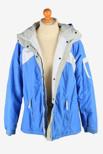 Columbia Women's Waterproof Jacket Adventure Vintage Size XL Blue C2871-160534