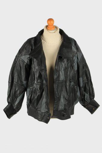 Women's Womens Jacket Button Up Vintage Size XL Black C2898-160888