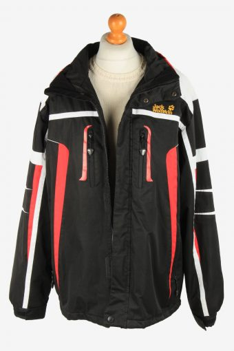 Mens Jack Wolfskin Waterproof Jacket Breathable Vintage Size XXL Multi C2934-162017