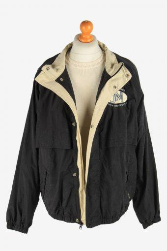 Mens Dickies Jacket Outdoor Lightweight Vintage Size XL Black C2938-162041